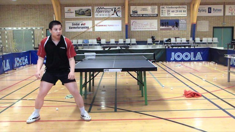 dynamic balance table tennis
