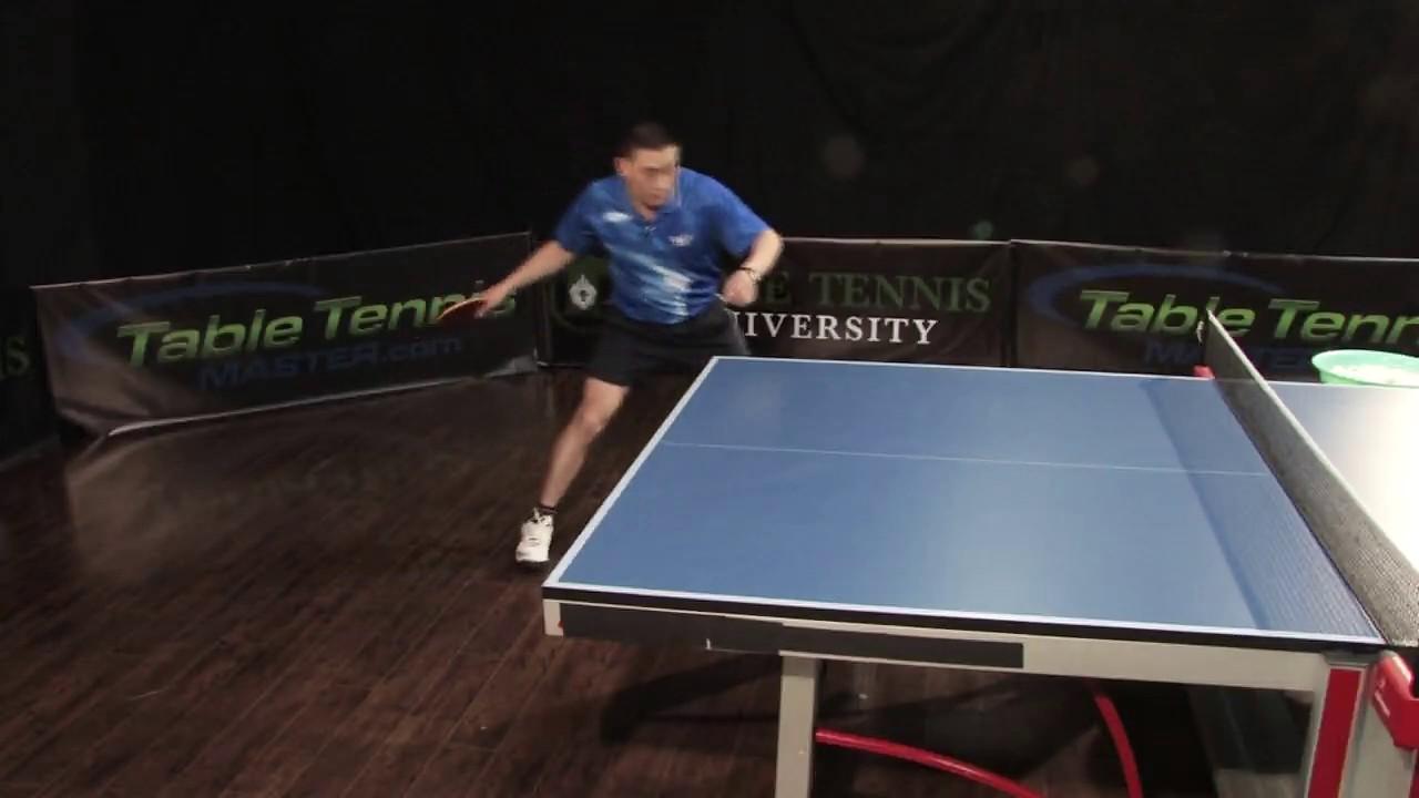 shadow training table tennis footwork