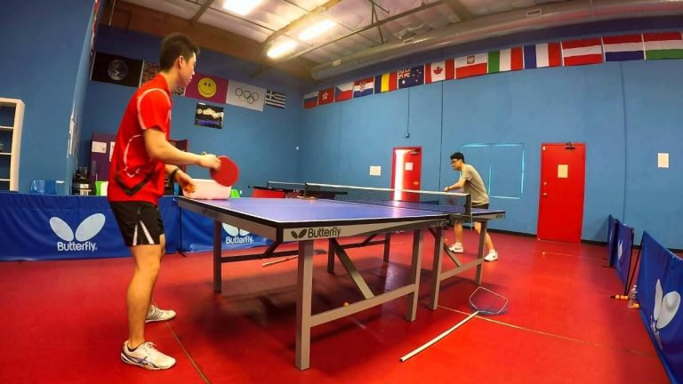 table tennis training 1