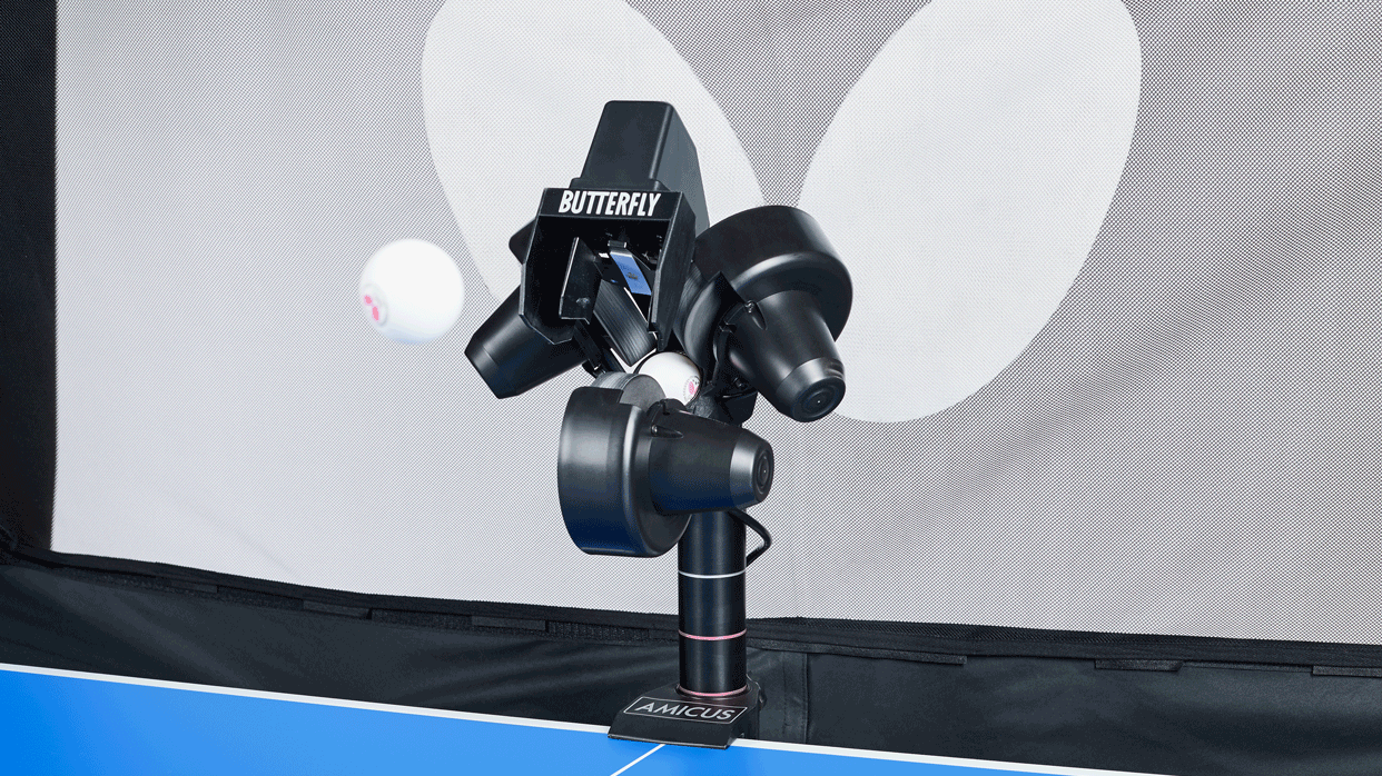 the best table tennis robots butterfly amicus